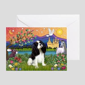 Tri Cavalier Fantasy Greeting Card