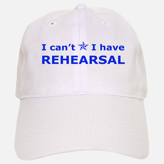 Rehearsal with Star Baseball Baseball Cap