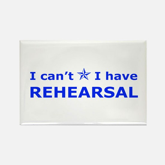 Rehearsal with Star Rectangle Magnet