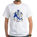 Dodson Family Crest White T-Shirt