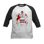 Dodd Family Crest Kids Baseball Jersey