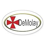 DeMolay Oval Sticker