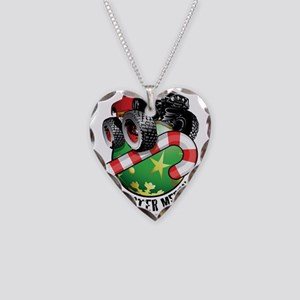 Monster Truck Ornament Necklace Heart Charm