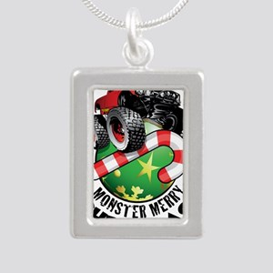 Monster Truck Ornament Necklaces