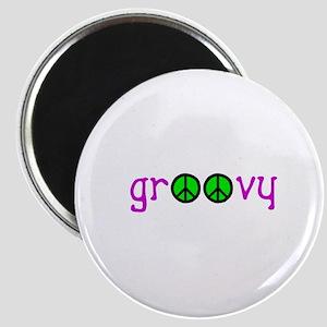 Groovy Peace Magnet