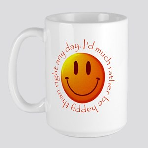 "Large ""happy"" Mug"