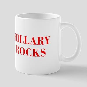 Hillary Rocks-Bod red 421 Mugs