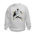 Deveris Family Crest Kids Sweatshirt
