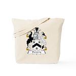 Deveris Family Crest Tote Bag