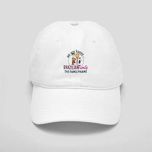 Personalized Happy Brazilian Family Cap