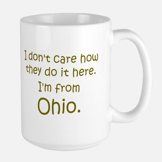 From Ohio Large Mug