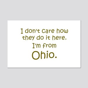 From Ohio Mini Poster Print