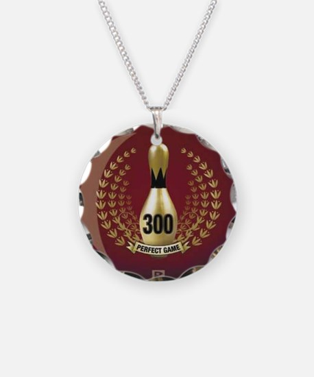 BOWLING.  300 GAME.  PERFECT Necklace