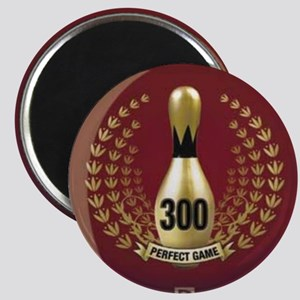 BOWLING.  300 GAME.  PERFECT GAME Magnet