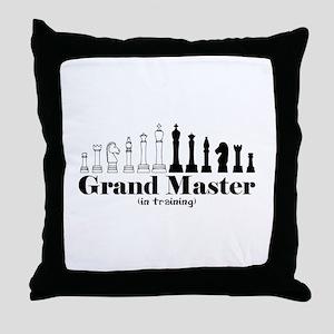 Chess Grand Master Throw Pillow