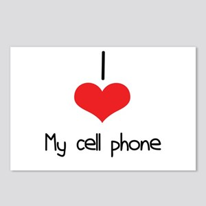 My Cell Phone Postcards (Package of 8)