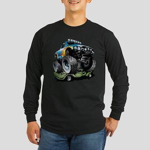 Monster Race Truck Crush Long Sleeve T-Shirt