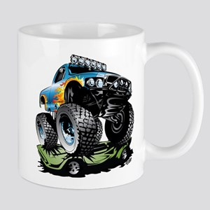 Monster Race Truck Crush Mugs