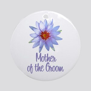 Lotus Groom's Mother Ornament (Round)