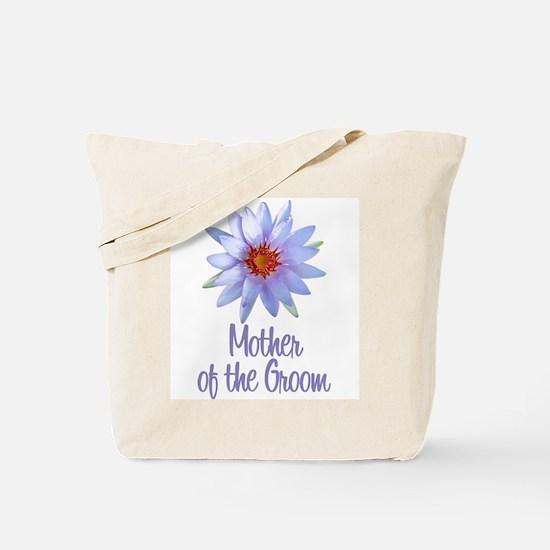 Lotus Groom's Mother Tote Bag