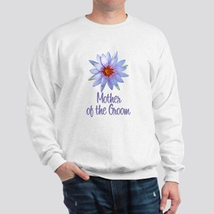 Lotus Groom's Mother Sweatshirt