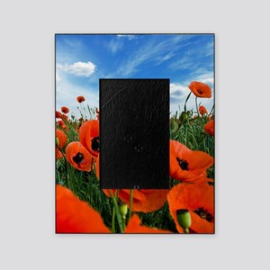Poppy Flowers Field Picture Frame