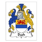 Dash Family Crest Small Poster