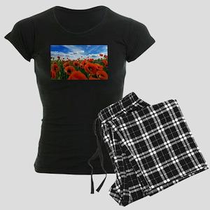 Poppy Flowers Field Pajamas