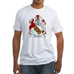 Darwin Family Crest Fitted T-Shirt