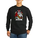 Darwin Family Crest Long Sleeve Dark T-Shirt