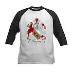 Darwin Family Crest Kids Baseball Jersey
