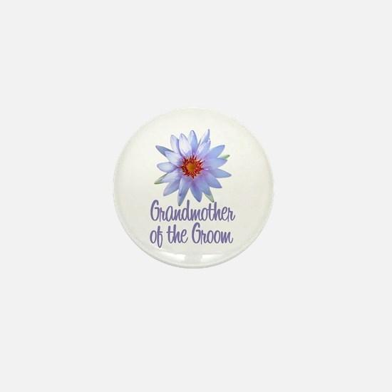Lotus Groom's Mother Mini Button