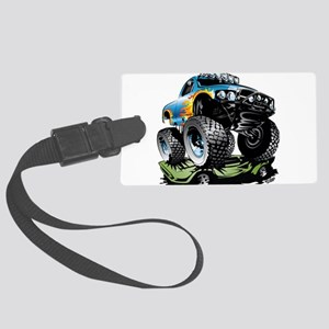 Monster Race Truck Crush Large Luggage Tag