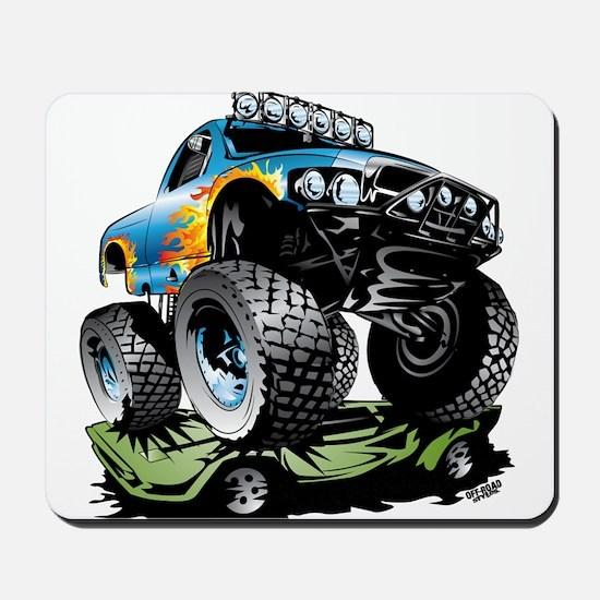 Monster Race Truck Crush Mousepad