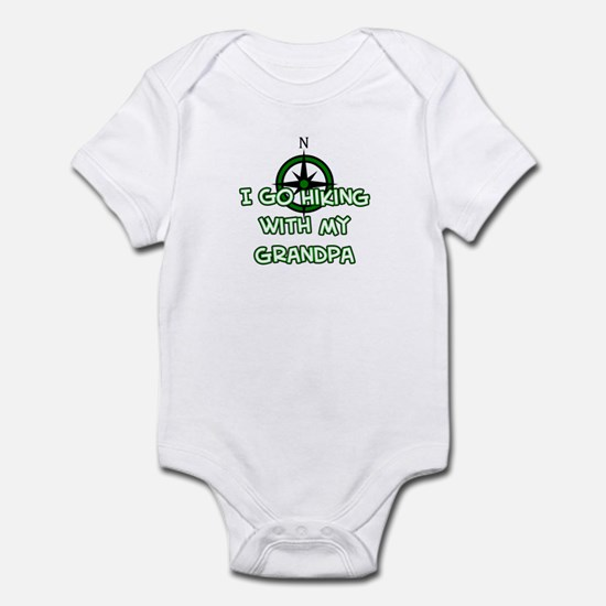 Hiking Grandpa Infant Bodysuit