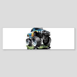 Monster Race Truck Crush Bumper Sticker