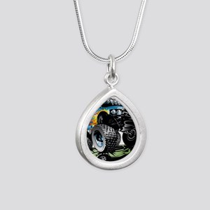Monster Race Truck Crush Necklaces