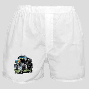 Monster Race Truck Crush Boxer Shorts
