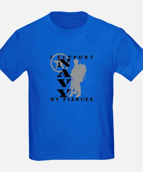 I Support Fiancee 2 - NAVY  T