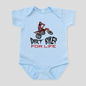 Motocross Biker For Life Body Suit