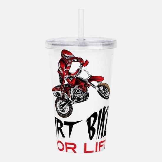 Motocross Biker For Li Acrylic Double-wall Tumbler