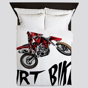 Motocross Biker For Life Queen Duvet