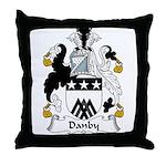 Danby Family Crest  Throw Pillow
