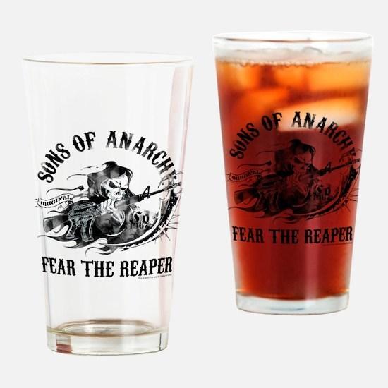 SOA Reaper Gun Drinking Glass