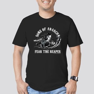 SOA Reaper Gun Men's Fitted T-Shirt (dark)