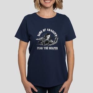 SOA Reaper Gun Women's Dark T-Shirt