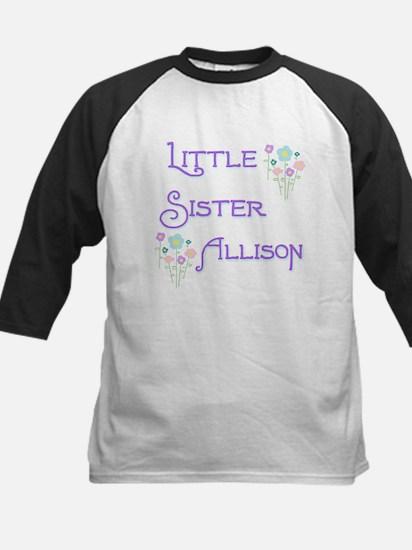 Little Sister Allison Kids Baseball Jersey