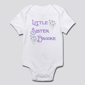 Little Sister Brooke Infant Bodysuit