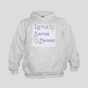 Little Sister Brooke Kids Hoodie