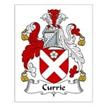 Currie Family Crest  Small Poster